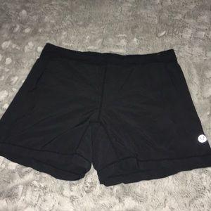 Men's Lululemon Lined Black Shorts